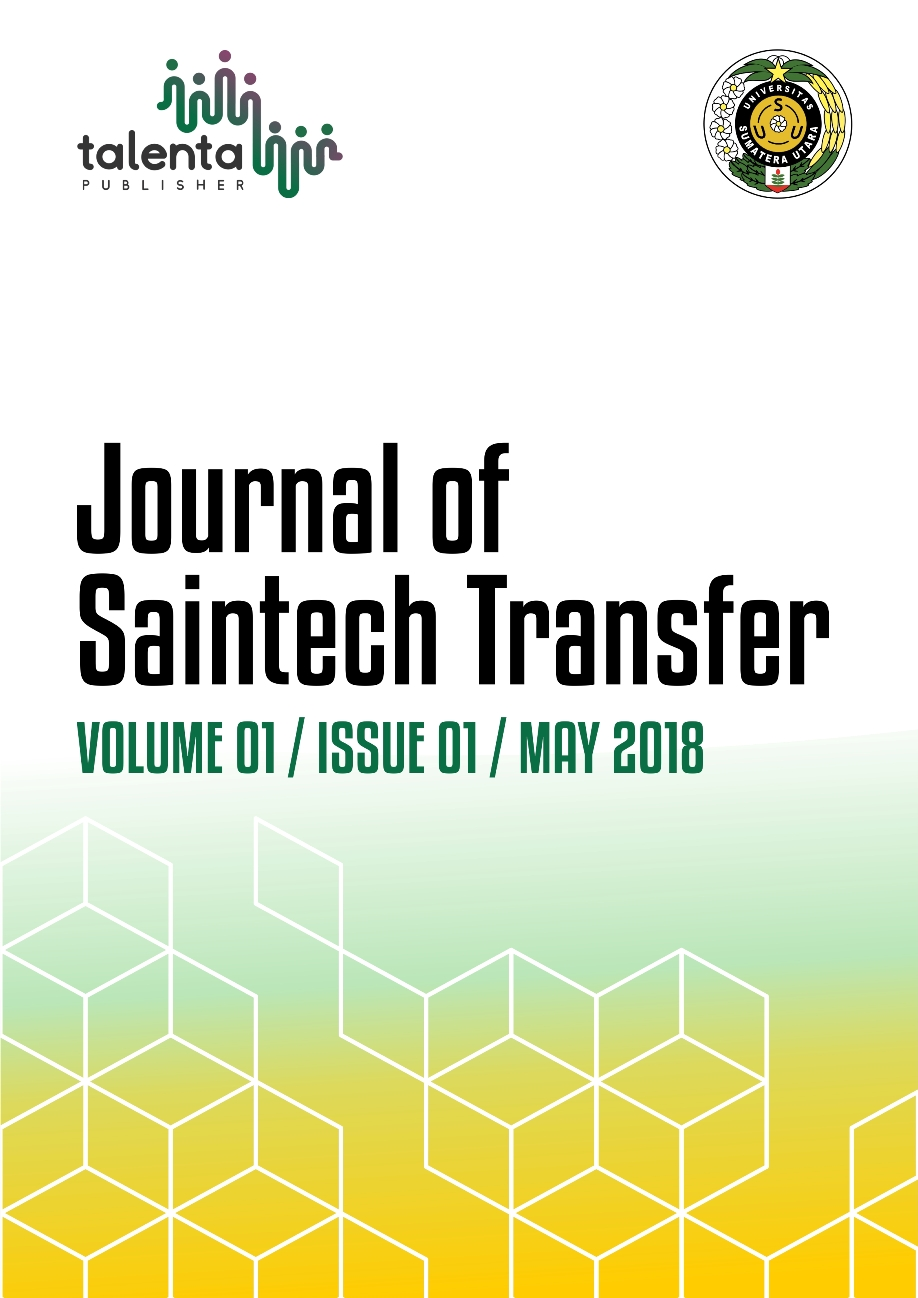 Journal of Saintech Transfer Volume 01 Issue 01