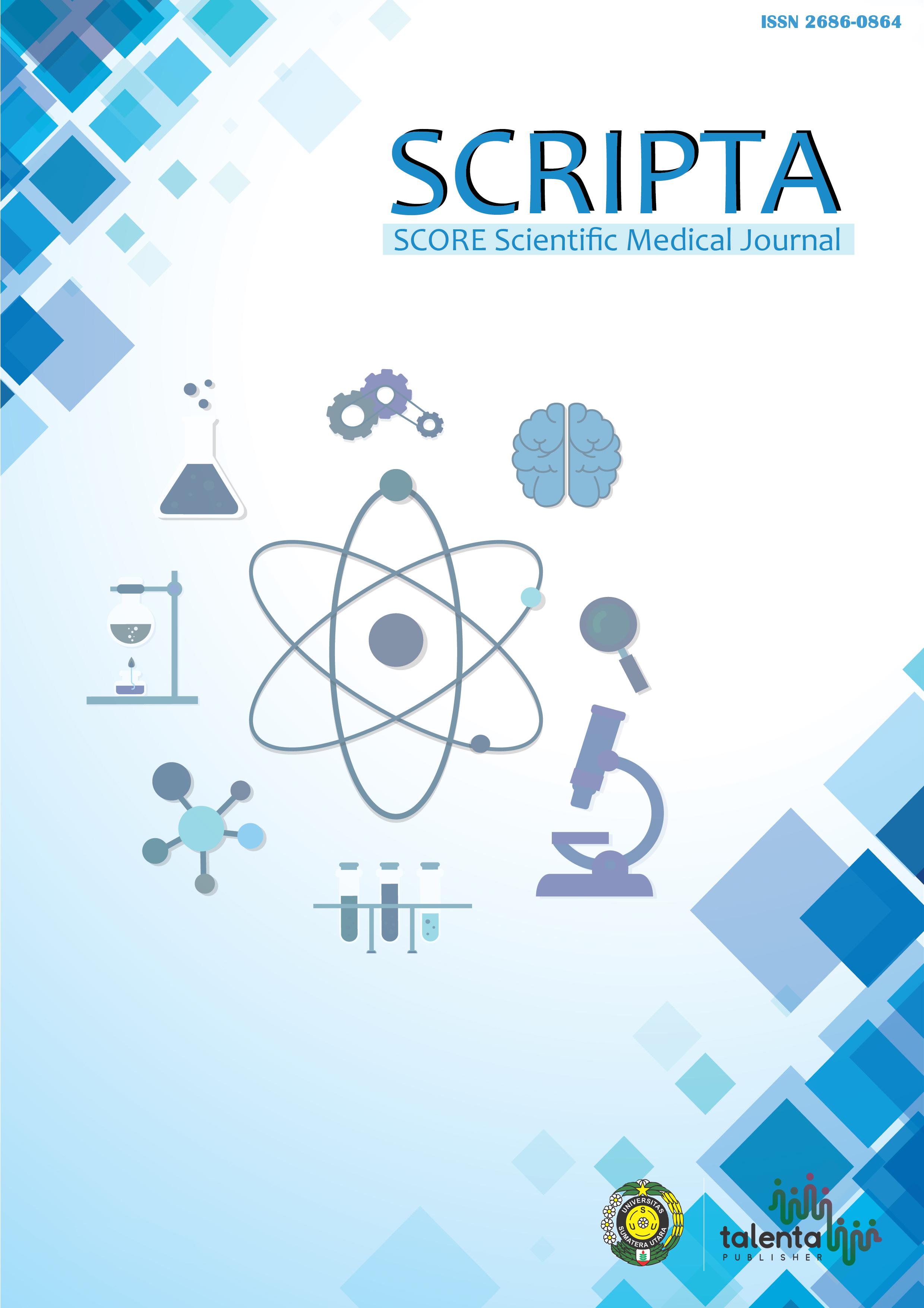 Halaman Muka dari SCRIPTA SCORE Scientific Medical Journal